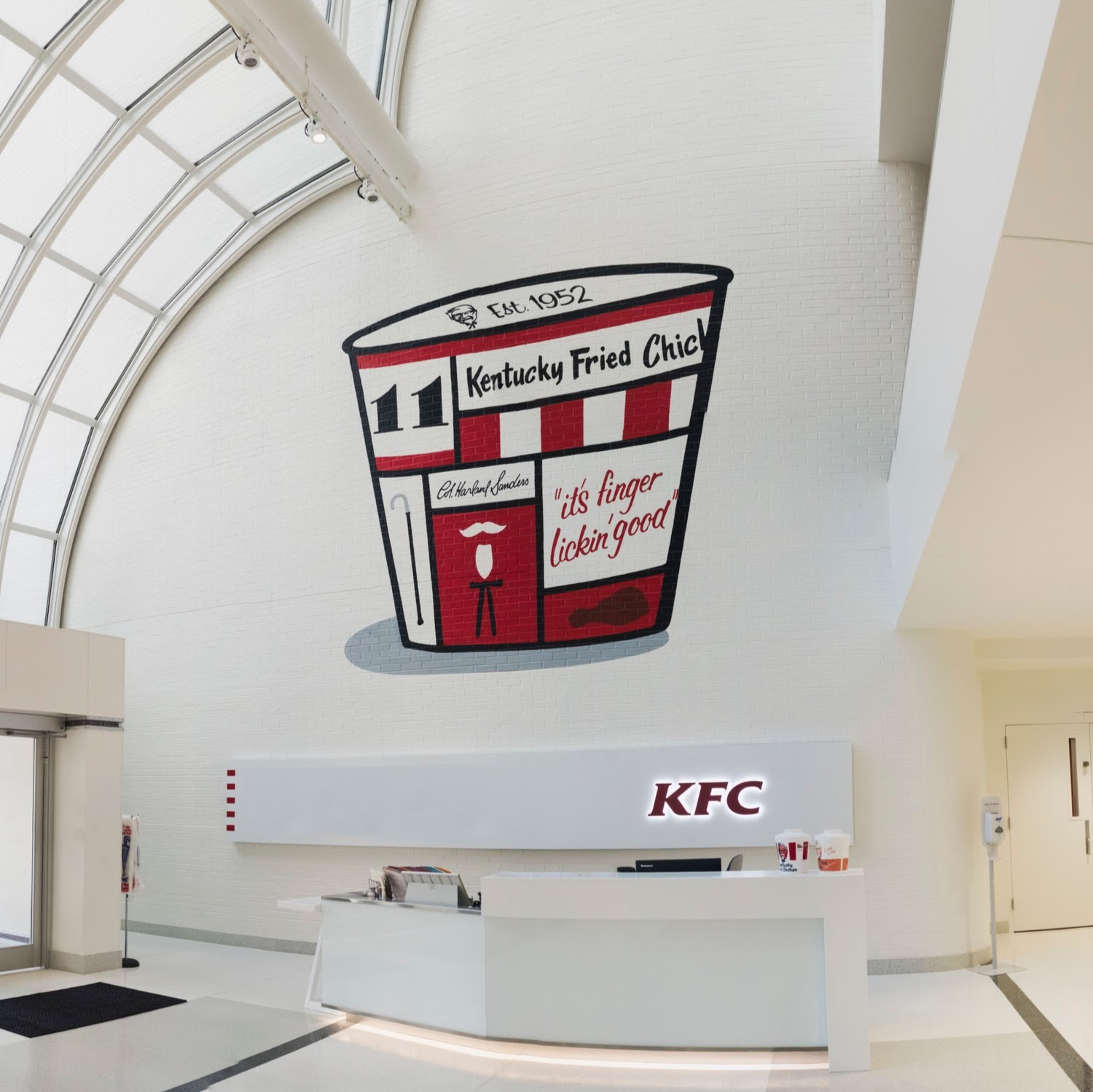 Kentucky Fried Chicken Mural - Bryan Todd