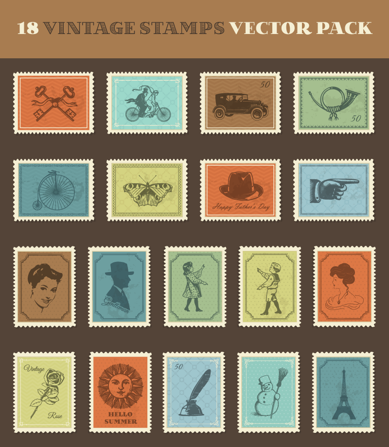 vintage-stamps-vector-pack-preview