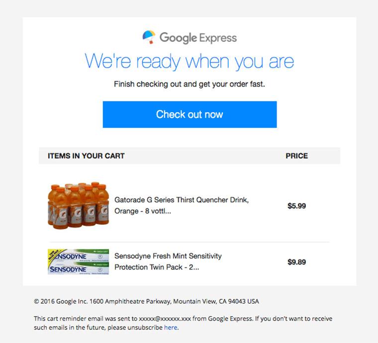 google express newsletter