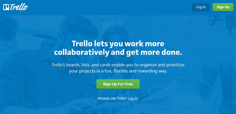 trello homepage copy