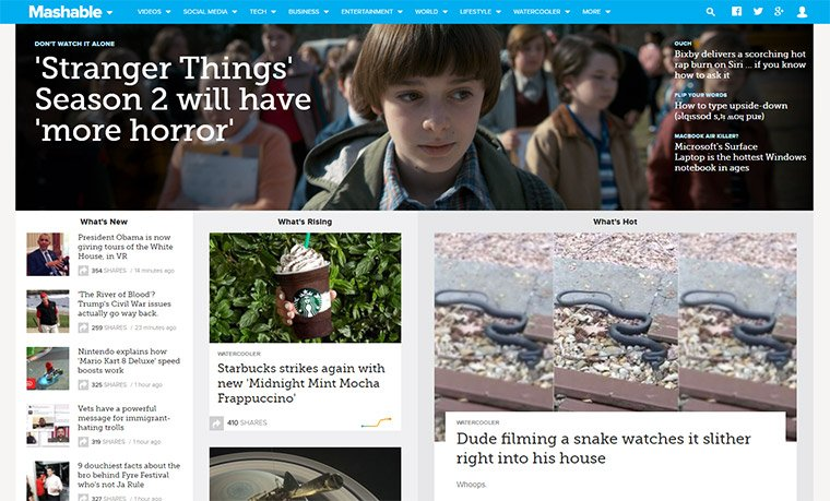 mashable blog