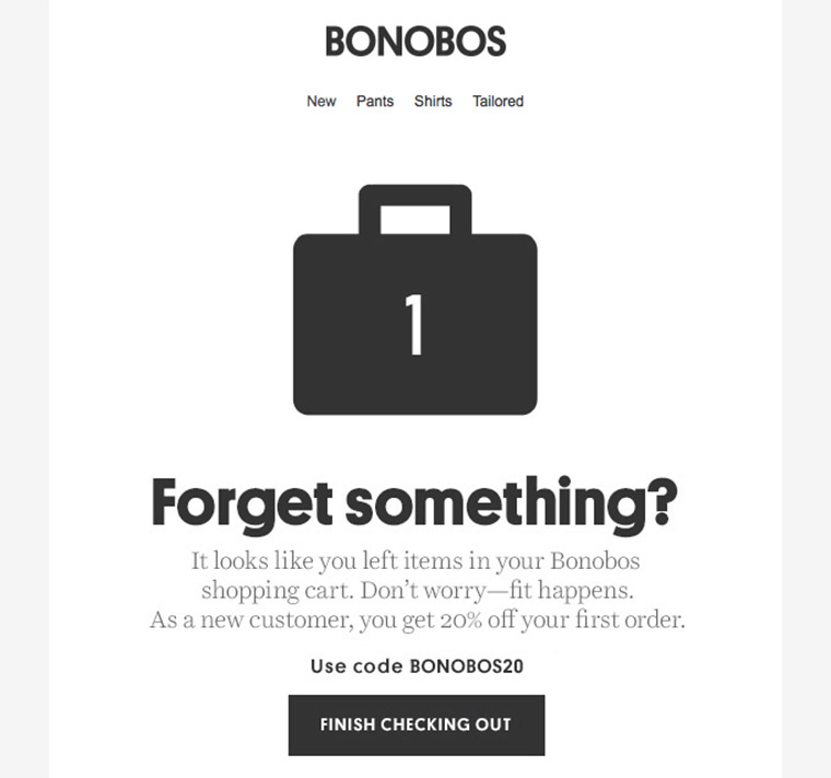 bonobos newsletter