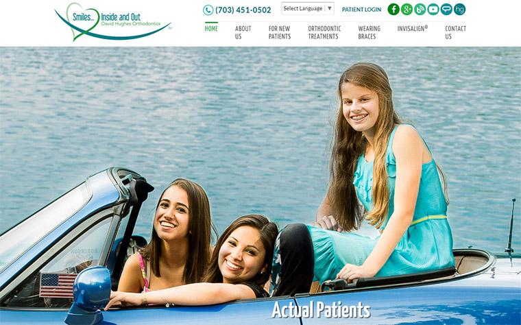 david hughes orthodontist website