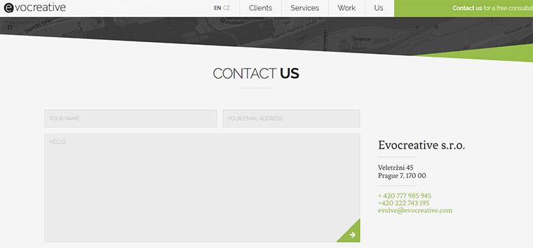 evo creative contacts