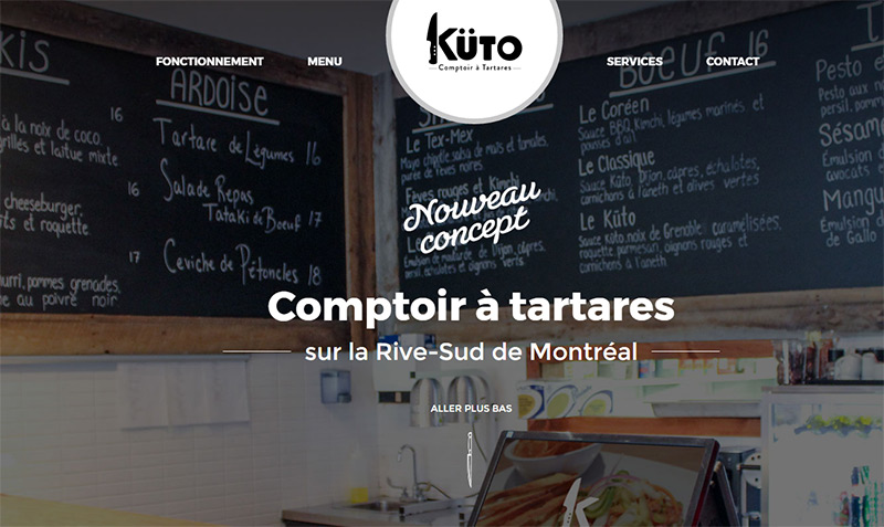 kuto homepage restaurant header
