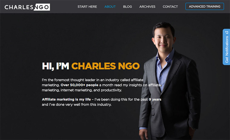 charles ngo about page