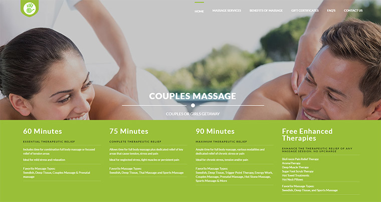 donelson massage homepage