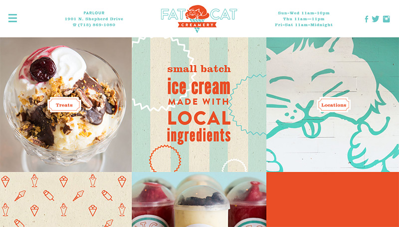 fat cat creamery website