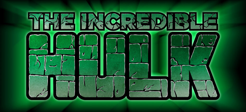 Incredible Hulk Font How to