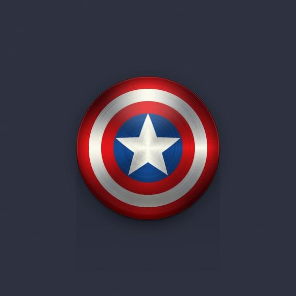Illustrator Tutorial Captain America