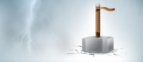 How to Design Thor's Hammer Illustrator