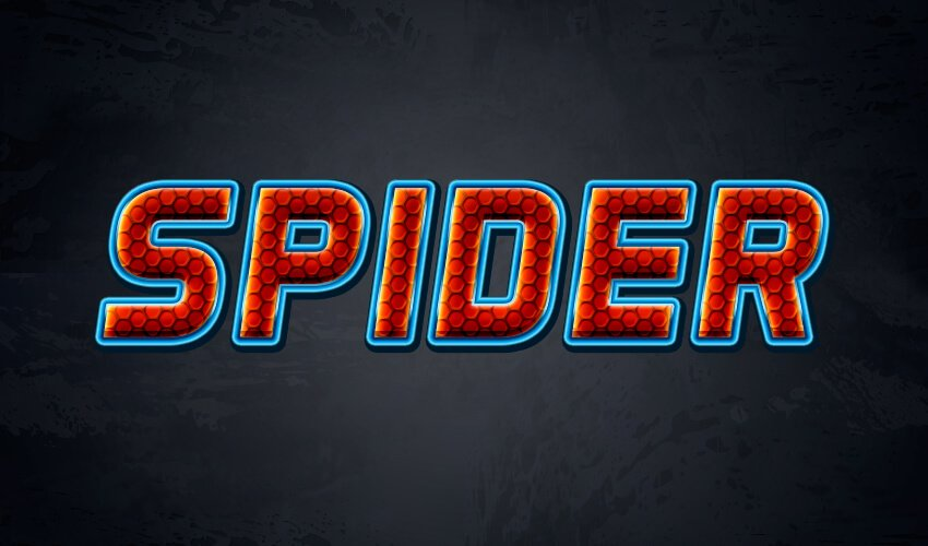 How to Create Spiderman Font
