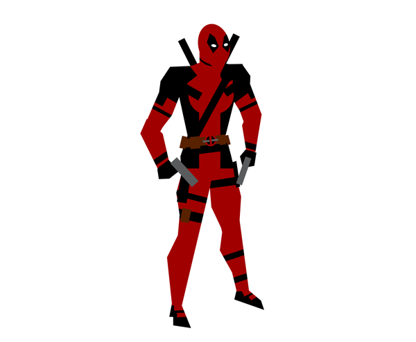 How to Make Cartoon Deadpool