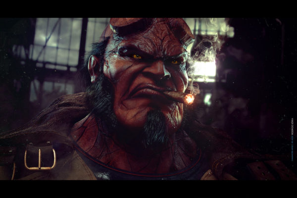 Design Your Own Hellboy After Effects