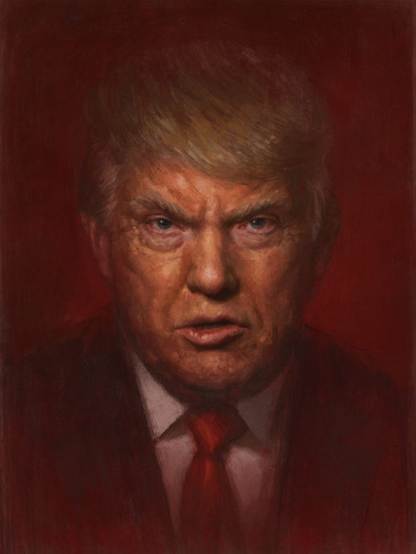 Paint It Red Donald