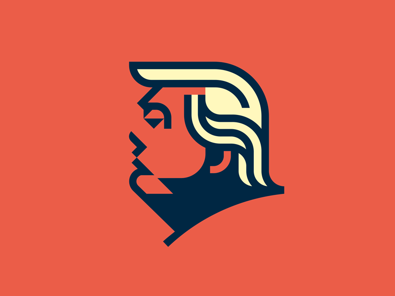 We love this Trump mascot from Roy Smith ! Using only three colors ...
