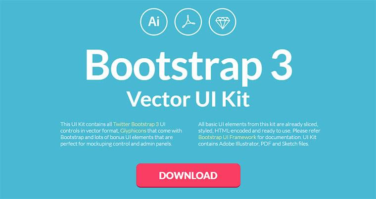 bootstrap v3 ui kit