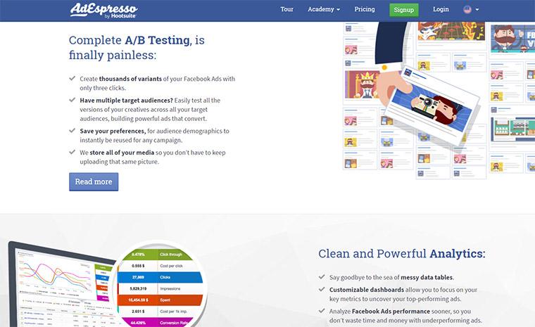 adespresso homepage