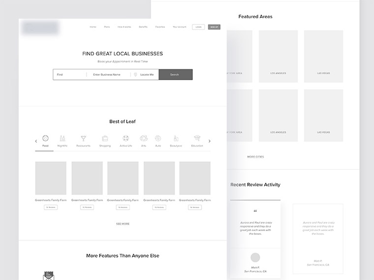 Design Your Wireframes With Content Hierarchy In Mind - Bittbox