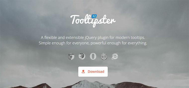 tooltipster plugin
