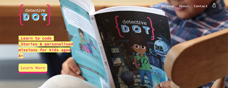 detective dot hero header