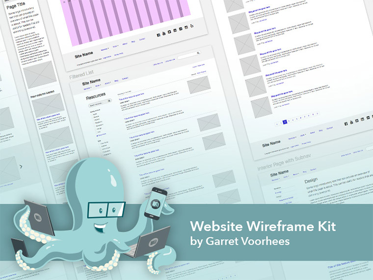 sketch wireframing template