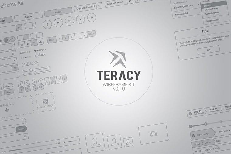 teracy sketch ui kit