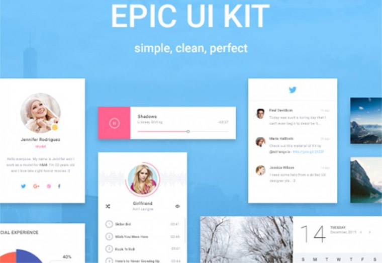 epic ui kit freebie