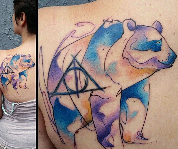 Nerdy tattoo list featuring Harry Potter, Star Wars, Star Trek, anime, and video game art