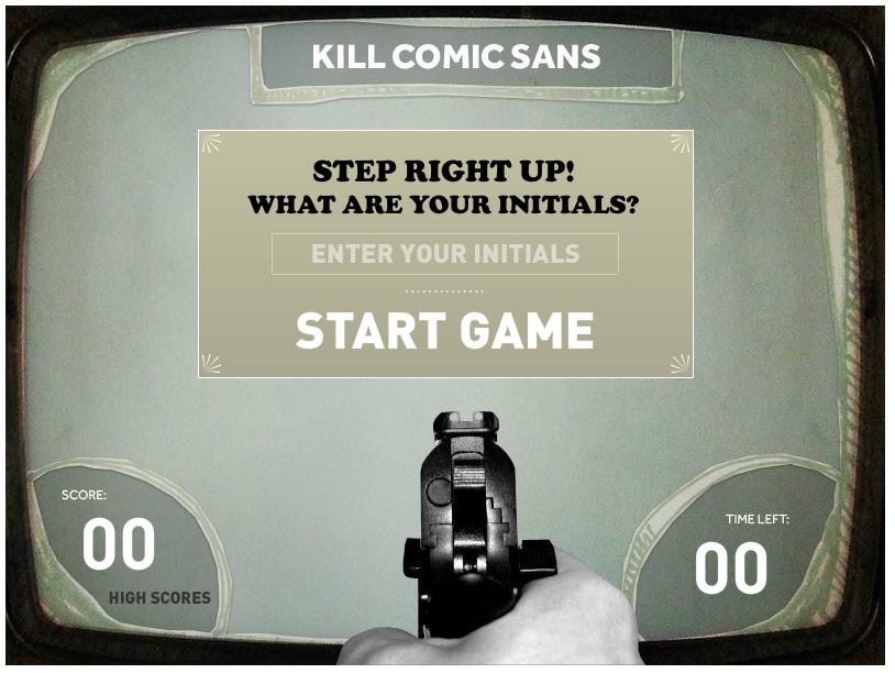 comic sans game
