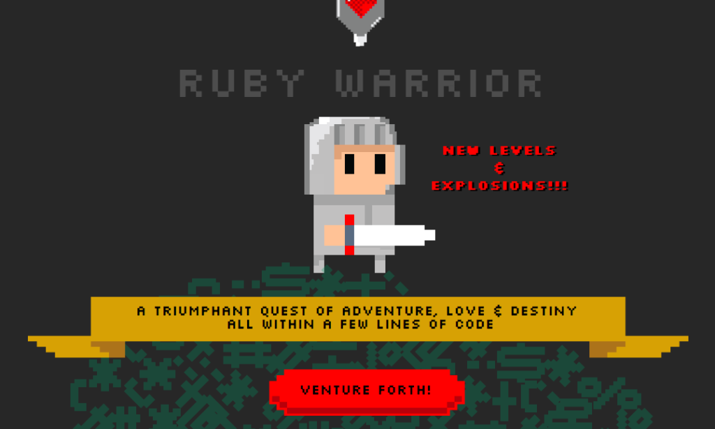 Is there a game that teaches ruby programming?