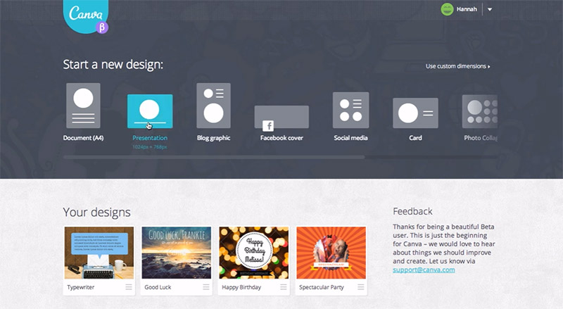 canva graphics editor