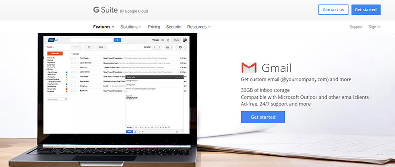 gsuite gmail account