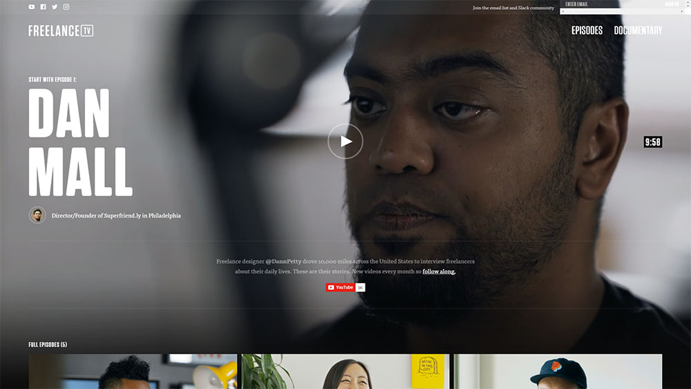 using video backgrounds in web design
