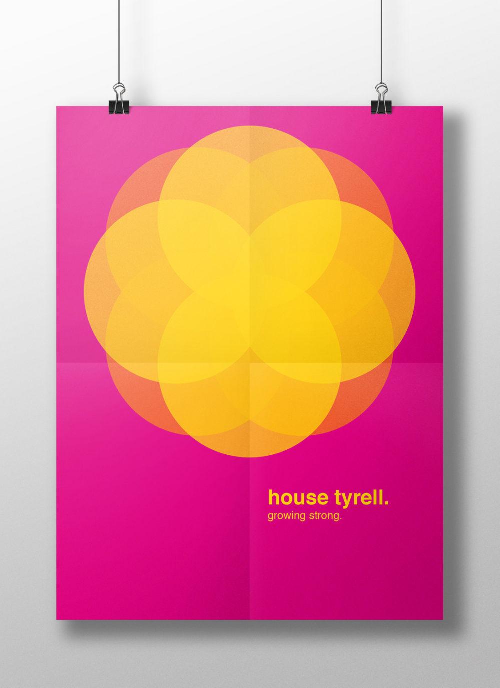 Tyrell Family Crest