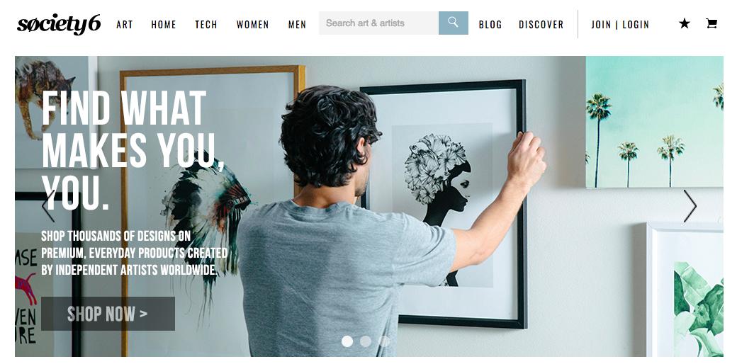fan art website