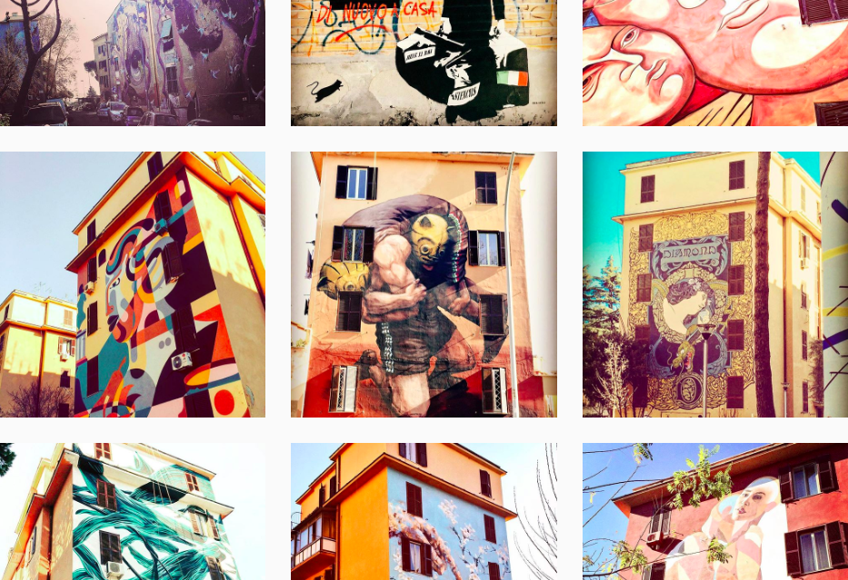 Inspirational Instagram Account with Street Art
