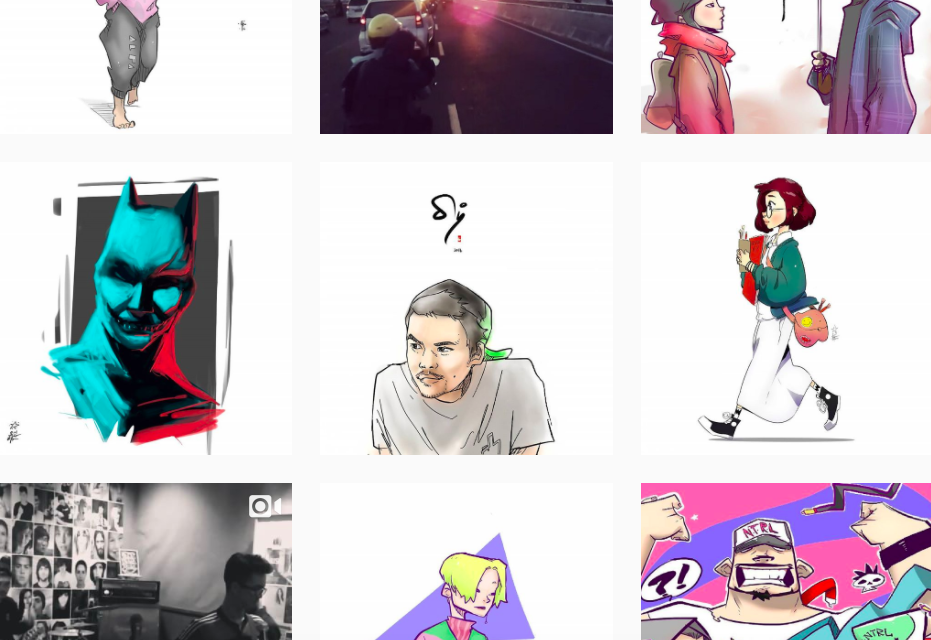 Illustration Instagram Accounts