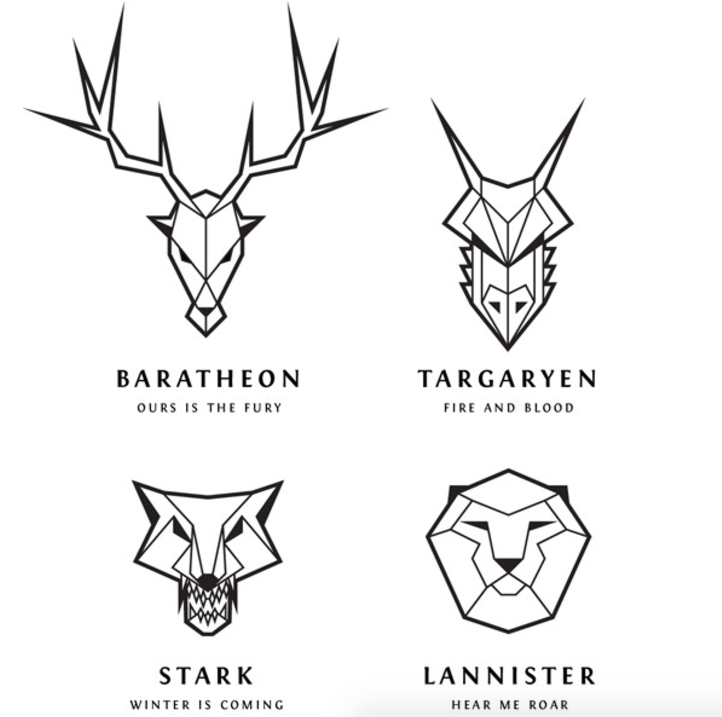 Game of Thrones Family Animals
