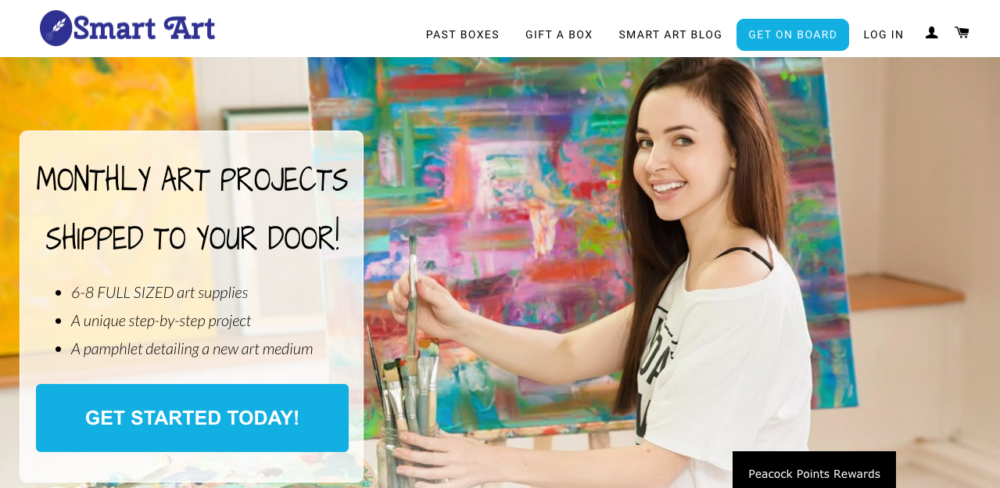art subscription box