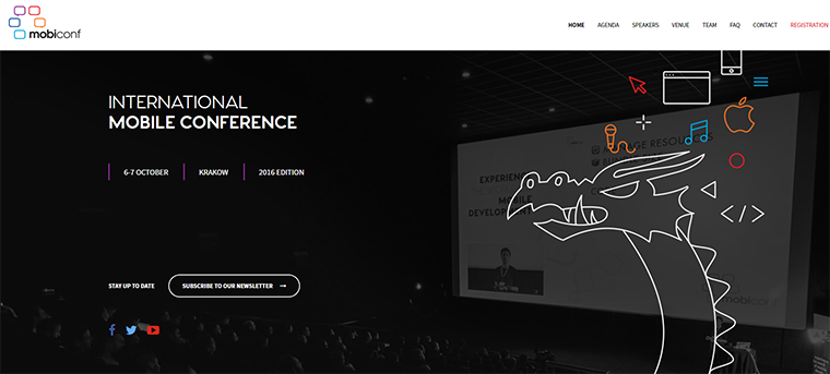 mobiconf website