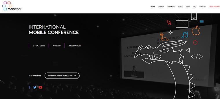 mobiconf website