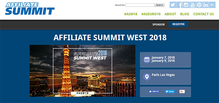 affiliate summit event