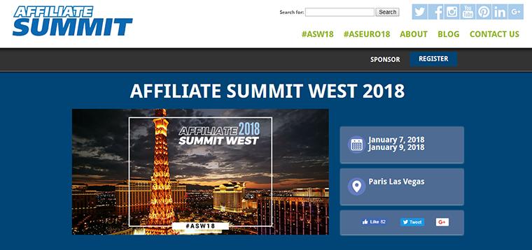 affiliate summit event