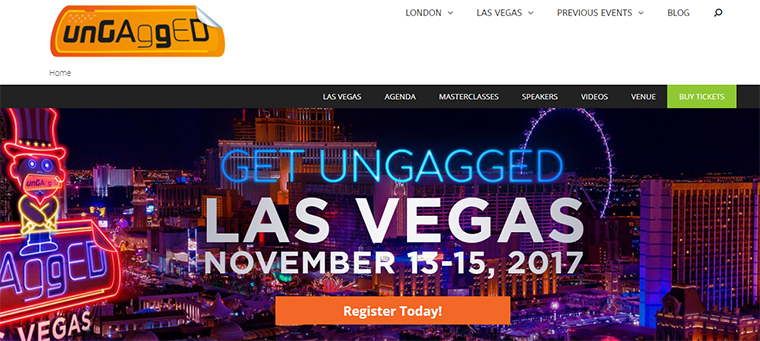 ungagged conference homepage