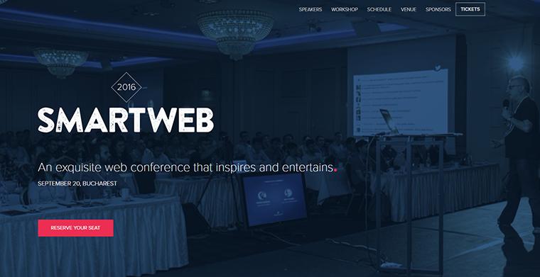 smartweb conference site