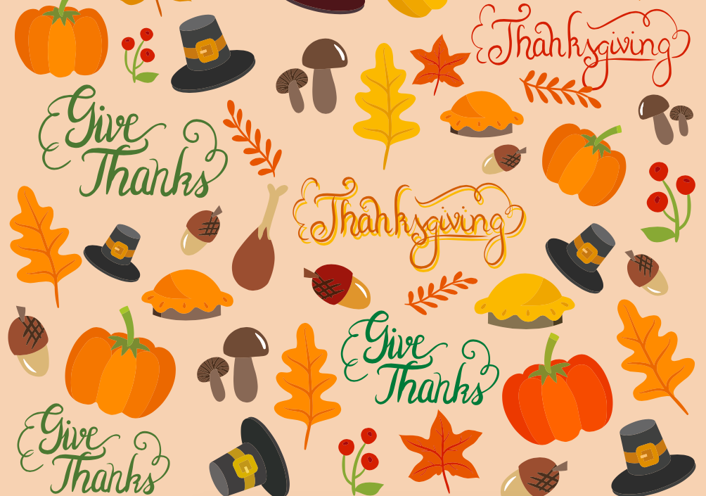 Free Autumn pattern for Thanksgiving