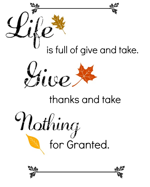 Free Thanksgiving Quotes