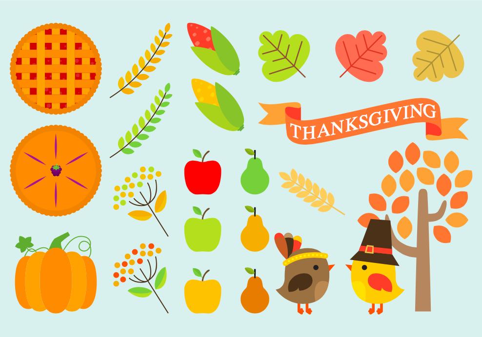 Free Thanksgiving icons