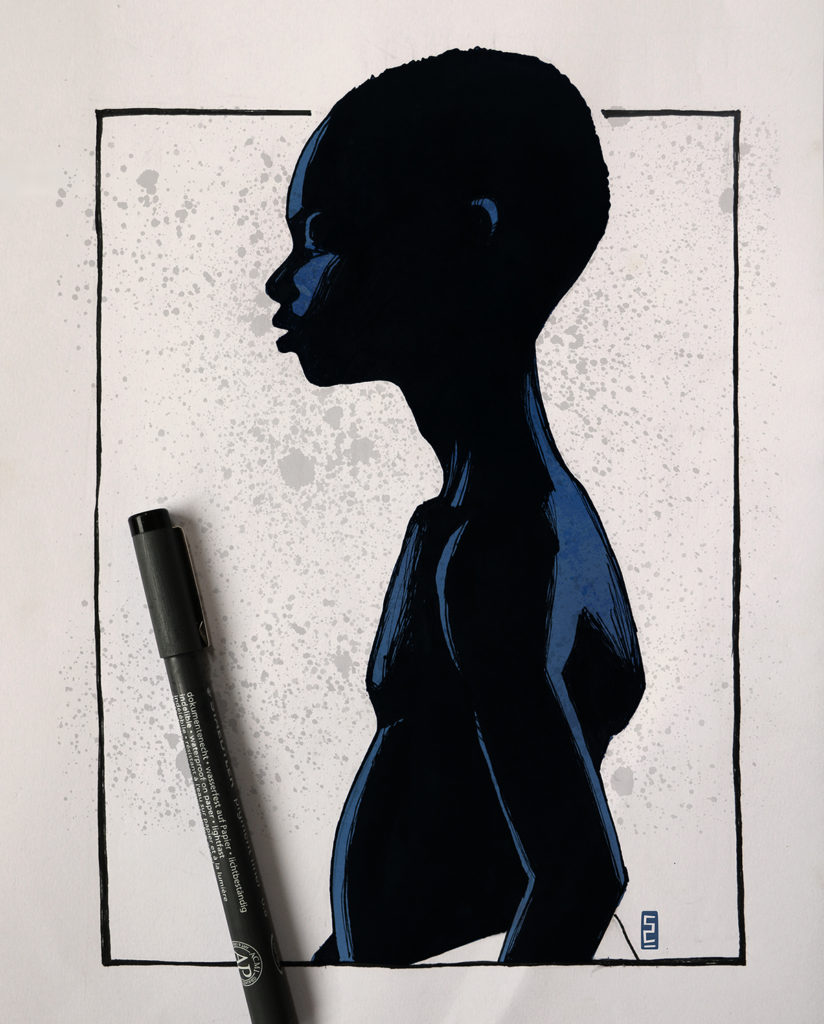 The best art from Inktober Challenge 2017